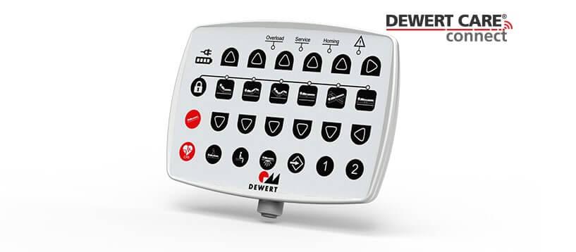 Dewert Care Connect nurse controller