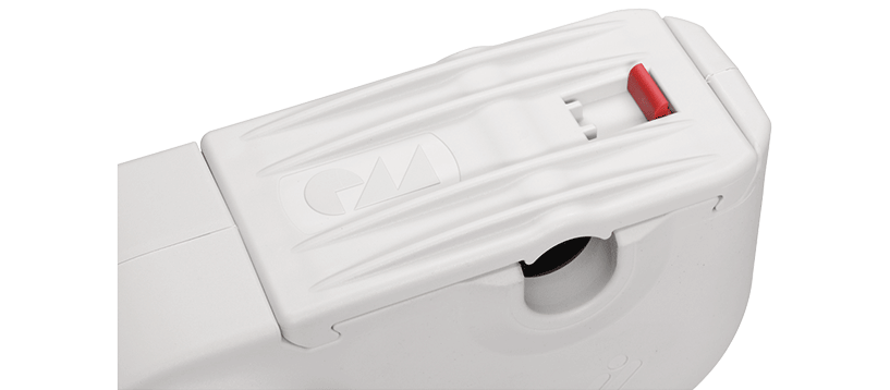 DUOMAT 8 snap-in locking device