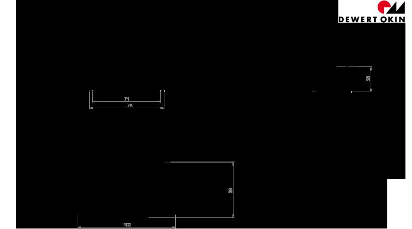 RF ECO BT technische Zeichnung