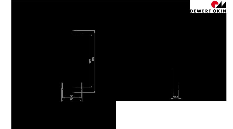 RF Touch technische Zeichnung