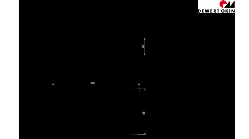 CU 165 technische Zeichnung